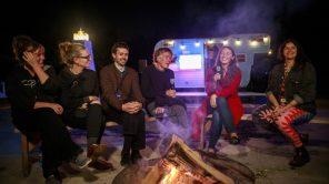 A fireside Q&A as part of the Camden International Film Festival