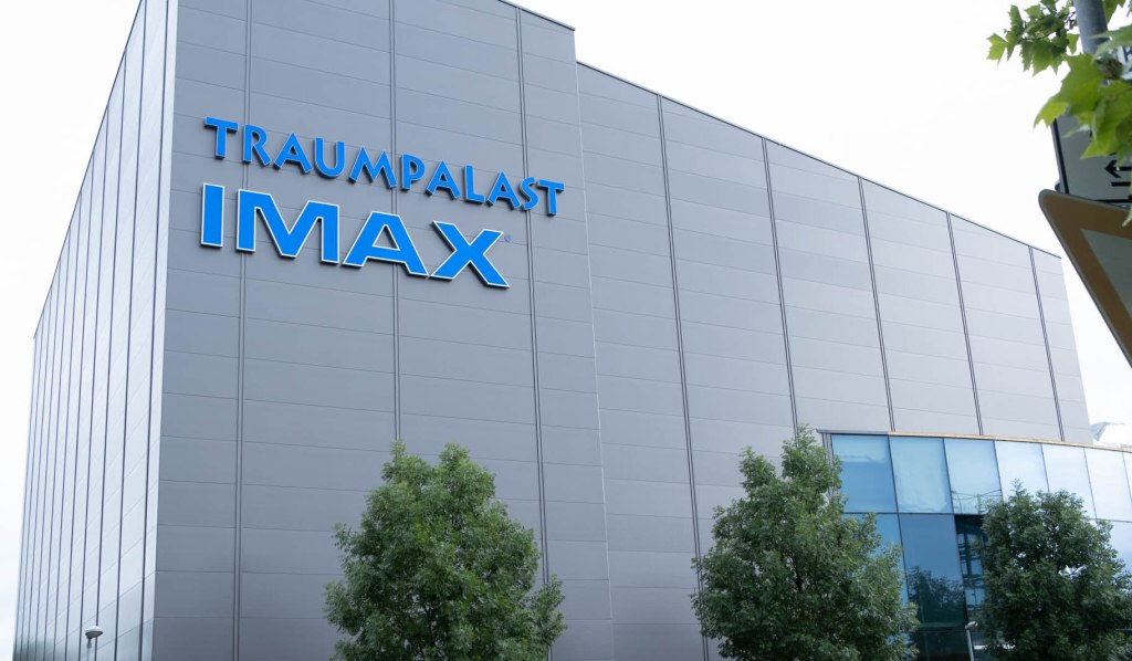 EXCLUSIVE: The world's largest Imax screen is scheduled to open to the public on September 30 at the Traumpalast Multiplex in Leonberg, Germany.