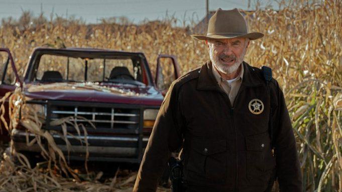 Sam Neill in 'Invasion'