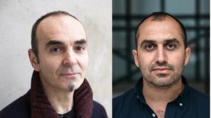'Sabaya' producer Antonio Russo Merenda and director Hogir Hirori
