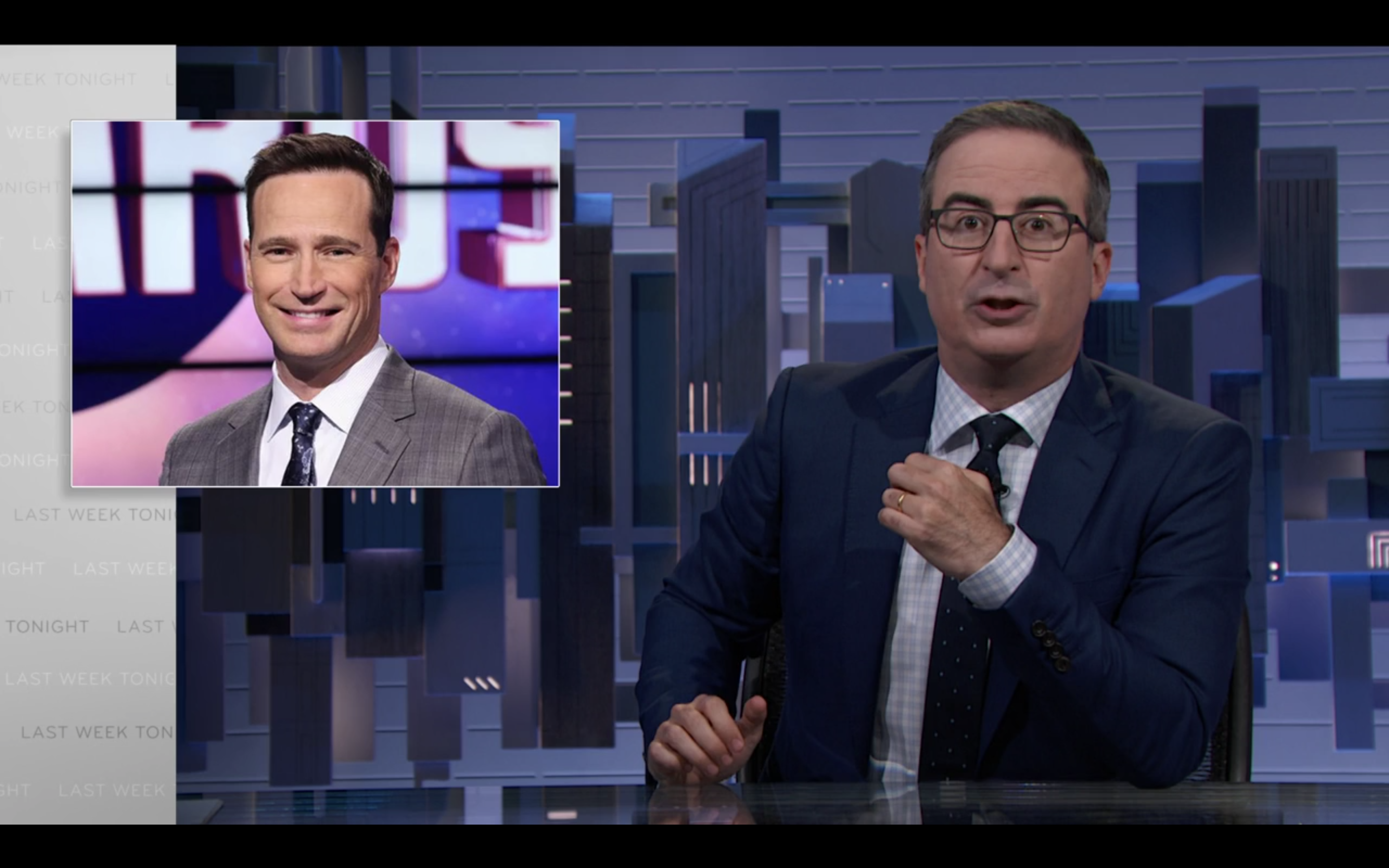 'Last Week Tonight With John Oliver' Likens Abysmal Response To Del Rio Scandal To 'Jeopardy!' Hiring Controversy