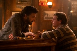 Ben Affleck and Tye Sheridan in 'The Tender Bar'