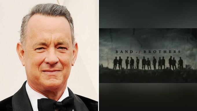 [WATCH] Tom Hanks Kicks Off Band