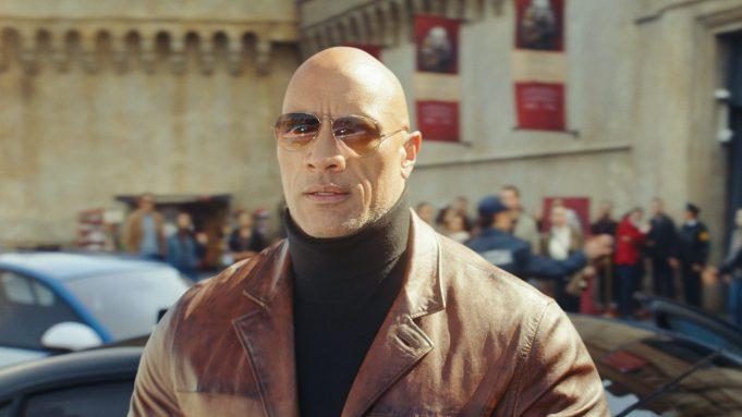 Dwayne Johnson in 'Red Notice'
