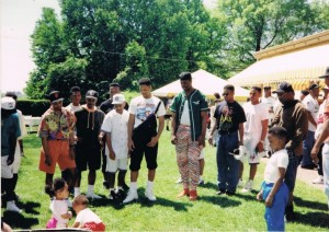 """Will Smith and more on the set of the """"Summertime"""" music video"""
