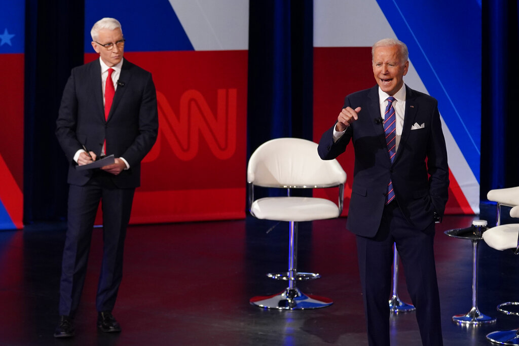"""Joe Biden, At CNN Town Hall, Gets Into the Nitty Gritty Reality Of Where Things Stand With Build Back Better Agenda: """"It's All About Compromise"""""""
