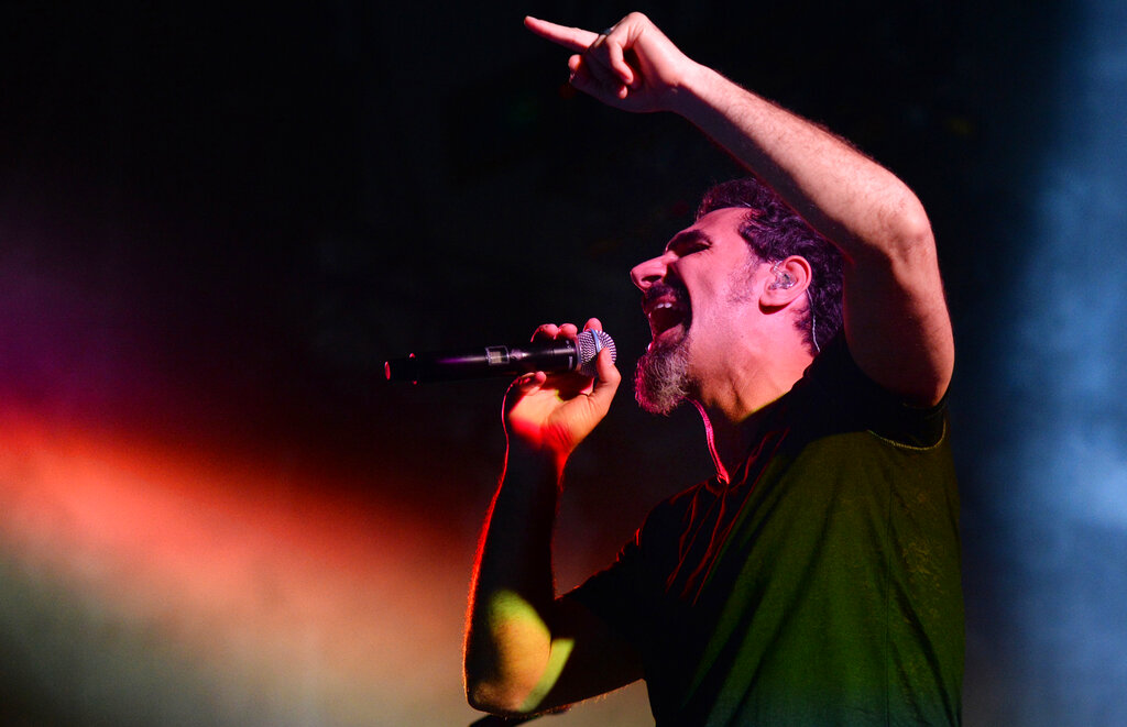 System Of A Down Postpones L.A. Shows Because of Serj Tankian's Breakthrough Covid-19 Case