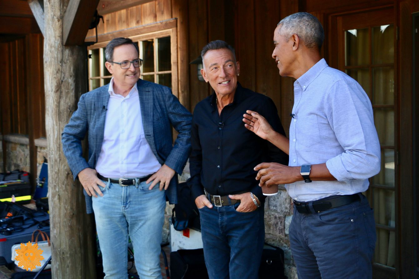 Barack Obama And Bruce Springsteen Talk About Friendship, Fathers, Fast Cars In CBS Sunday Morning Interview