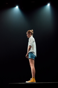 Emily Davis in the 2021 Broadway production of IS THIS A ROOM Photo by Chad Batka