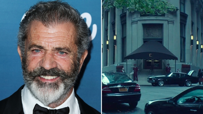 Mel Gibson The Continental