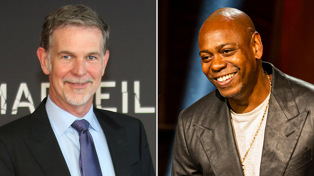 Netflix's Reed Hastings Refuses To Address Dave Chappelle Controversy, Trans Staff Walkout Or Even Earnings On Philanthropy Panel
