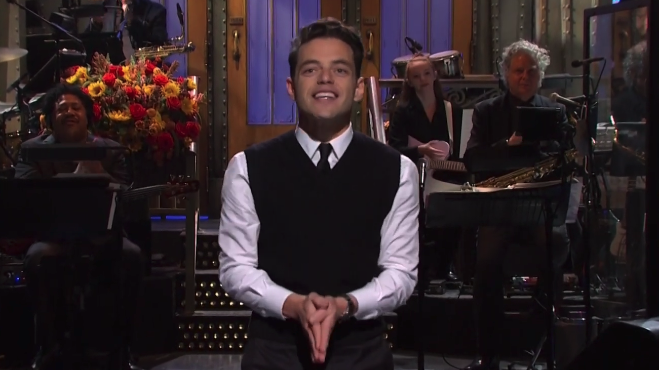 'SNL': Rami Malek Plays The Villain In Opening Monologue