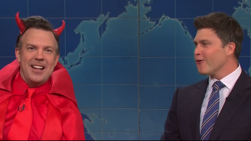 'SNL's Weekend Update Sees Jason Sudeikis Reprise Role As The Devil