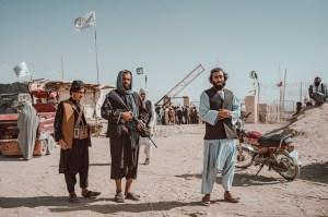 Afghanistan Roadblock