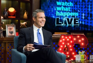 WATCH WHAT HAPPENS LIVE -- Pictured: Andy Cohen -- (Photo by: Charles Sykes/Bravo/NBCU Photo Bank)