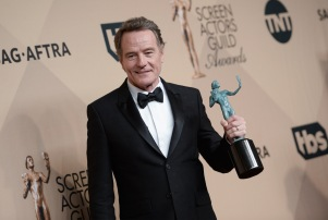 Mandatory Credit: Photo by Stewart Cook/WWD/REX/Shutterstock (8137130ar) Bryan Cranston The 23rd Annual Screen Actors Guild Awards, Press Room, Los Angeles, USA - 29 Jan 2017