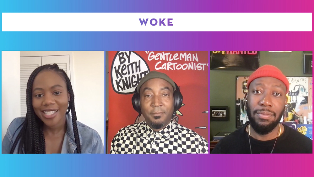 'Woke's Keith Knight & Lamorne Morris On The Timeliness Of Their Series, Plus Season 2 Details – Contenders TV.jpg