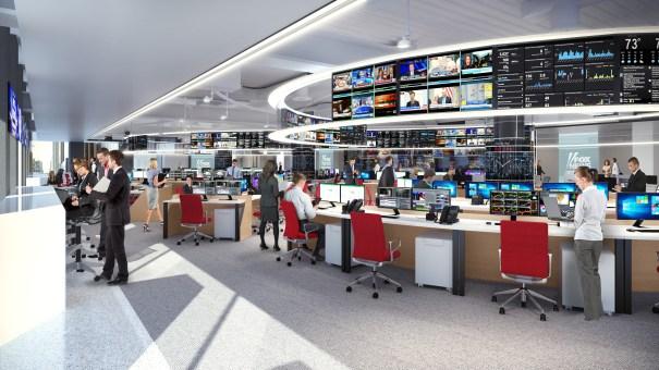 Fox newsroom renovation