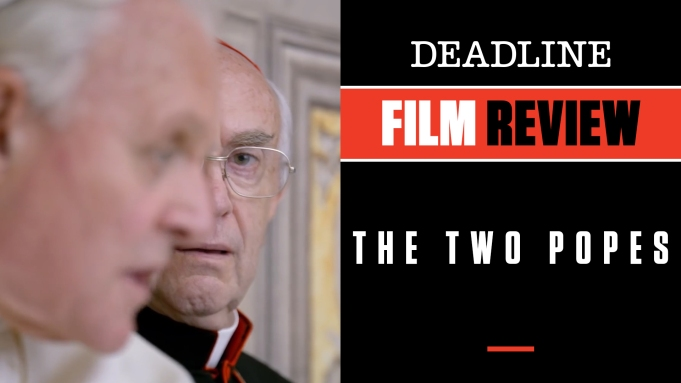 [WATCH] 'The Two Popes' Review: Anthony